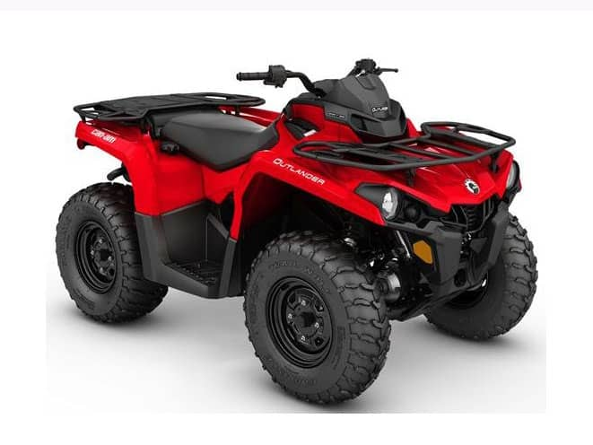 Can-Am Outlander 450 Save $1500