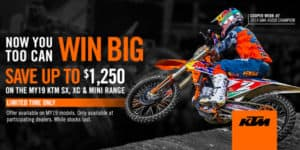 KTM In-Store Specials – Savage Motorcycles