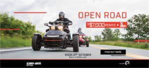 2018 Spyder F3 and RT Clearance