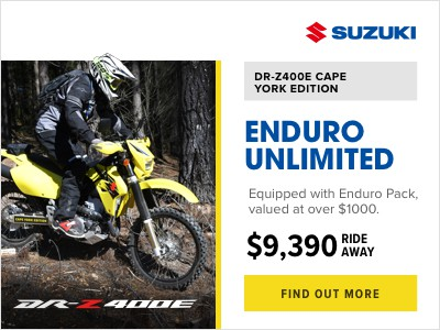Suzuki DRZ400 Cape York Edition