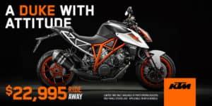 1290 Super Duke R Duke $22995 Ride Away