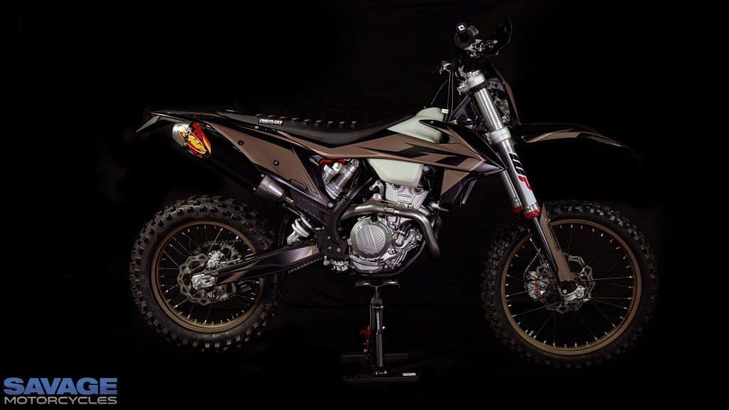 2021 KTM 350 EXC-F Finke Tribute- $15,900 Plus registration
