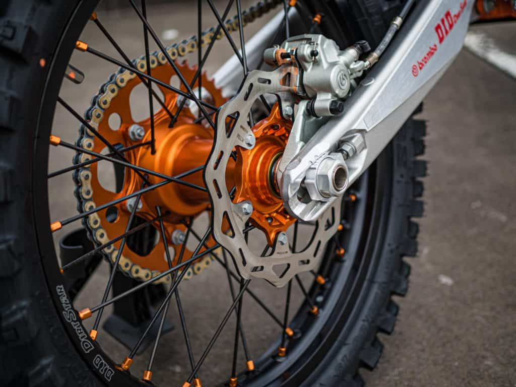 KTM FACTORY WHEELSET $1750 FITTED